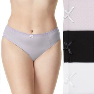 Olga Women's Secret Hug 3-Pack Hi-Cut Panty GT3683U
