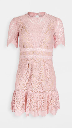 Saylor Darian Lace Mini Dress