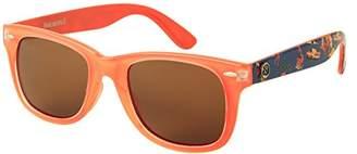 Margaritaville Havana Horn Rimmed Polarized Square Sunglasses