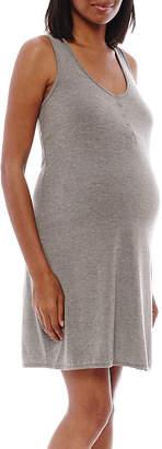 Spencer Maternity Sleeveless Nursing Nightshirt