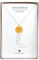 Dogeared Women's 'Legacy Collection - Nothing Can Dim The Light' Pendant Necklace