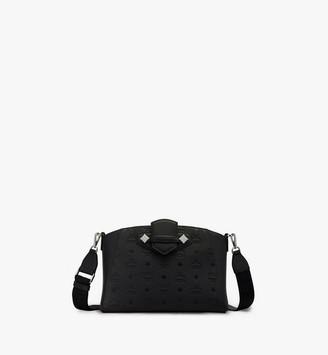 MCM Essential Crossbody Bag in Monogram Leather