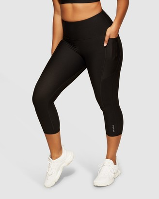 dk active - Women's 1/2 Tights - Elite Midi Tight - Size One Size, XS at The Iconic
