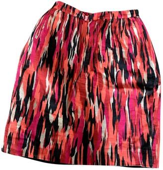 Jonathan Saunders Red Cotton Skirts