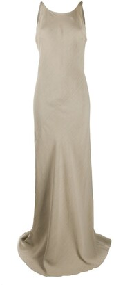Brunello Cucinelli Bias Cut Evening Gown