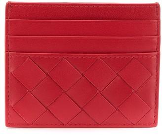 Bottega Veneta woven detailed card holder