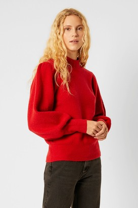 French Connenction Flossy Puff Sleeve Sweater