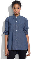 Madewell Perfect Chambray Ex-Boyfriend Shirt in Harvest Wash