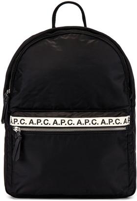 A.P.C. Repeat Backpack in Black   FWRD