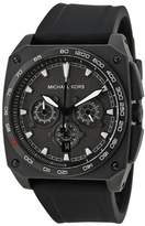 Michael Kors MK8390 Grandstand Black Dial Silicone Strap Chronograph Men