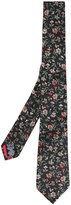 Paul Smith floral embroidered tie
