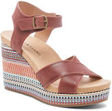 Lucky Brand Women's Sandals ZIN - Zin Yarosan Leather Wedge Sandal - Women