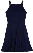 Aqua Girls' Circle Crochet Dress - Sizes S-XL
