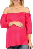 24/7 Comfort Apparel Sweetheart T-Shirt-Womens Plus Maternity