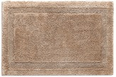 Abyss Super Pile large reversible bath mat - Taupe