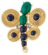 Oscar de la Renta Embellished Brooch