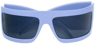 Gianfranco Ferré Pre-Owned Logo Embossed Sunglasses