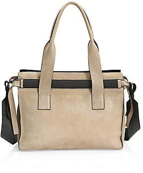 Brunello Cucinelli Women's Buffered Leather Tote Bag