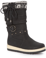 Lamo Black Renee Knit Cuff Boot - Women