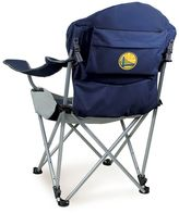 Picnic Time Golden State Warriors Reclining Camp Chair