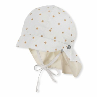 Sterntaler Baby Girls' Schirmmutze Mit Nackenschutz Hat