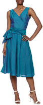 Made on Earth Turquoise Wrap Dress