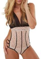 Just Sexy Lingerie Cage Lace Bodysuit