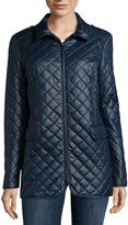 Liz Claiborne Short Quilted Coat