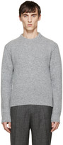 Calvin Klein Collection Grey Wool Sweater