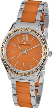 Jacques Lemans Ladies Watch Rome 11797L Analogue Quartz Stainless Steel