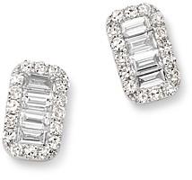 Bloomingdale's Kc Designs 14K White Gold Mosaic Diamond Stud Earrings