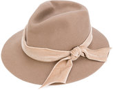 CA4LA classic bow-lined hat - women - Nylon/Viscose/Wool - One Size