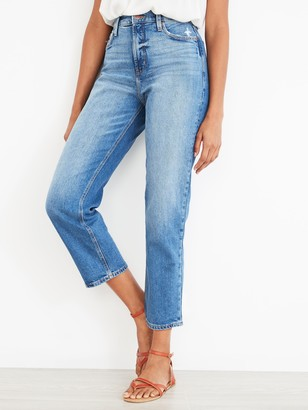 Old Navy Extra High-Waisted Boyfriend Straight Jeans for Women