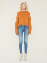 Maravilla Lost + Wander Crewneck Pointelle Sweater