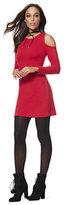 New York & Co. Lounge - Cold-Shoulder Flare Dress