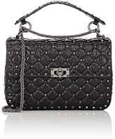 Valentino Women's Rockstud Medium Leather Shoulder Bag