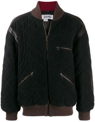 JC de CASTELBAJAC Pre-Owned diamond quilted bomber jacket