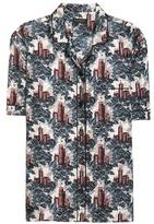 Burberry Mulberry Silk Pyjama Shirt