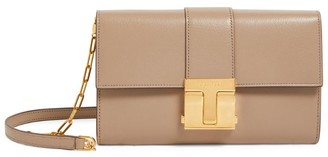 Tom Ford Leather T Clasp Bag