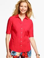 Talbots The Perfect Elbow-Sleeve Shirt