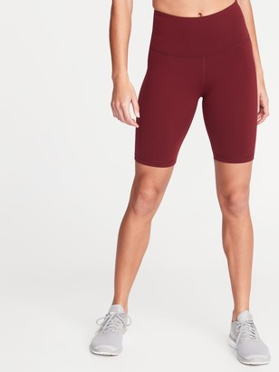 Old Navy High-Waisted Elevate Compression Bermuda Shorts For Women - 8-Inch Inseam