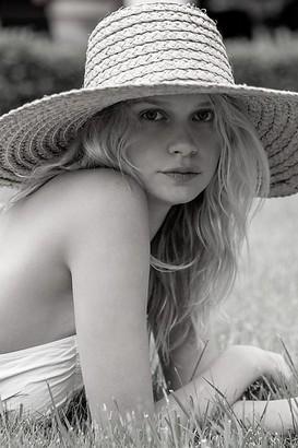 Ale By Alessandra Macarena Wide Brim Straw Hat