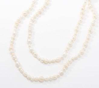 """Honora Sterling Silver Cultured Freshwater Pearl 50"""" Necklace"""
