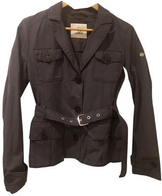 Cerruti Blue Cotton Jacket for Women