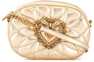 Dolce & Gabbana quilted Devotion camera bag