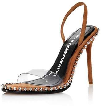 Alexander Wang Women's Nova Slingback High-Heel Sandals