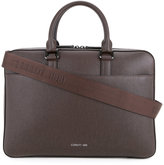 Cerruti 1881 - metallic logo hardware briefcase - men - Calf Leather - One Size