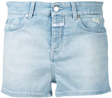 Closed stonewashed denim shorts - women - Cotton/Spandex/Elastane - 28