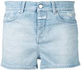 Closed stonewashed denim shorts