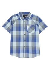 Hurley Boy's Floral Print Raglan Sleeve Woven Shirt